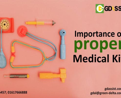 GD Assist Medical Tourism First Aid Kit